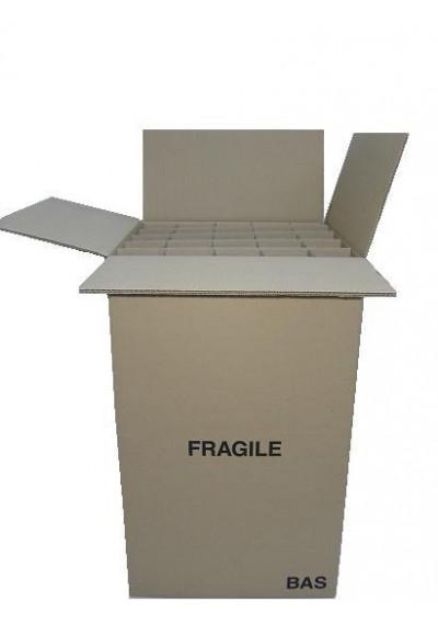 carton barrel à verres